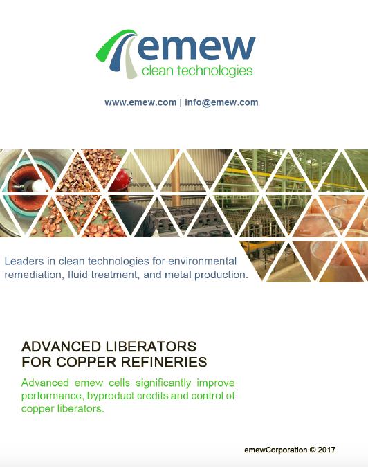 Advanced liberators for copper refineries