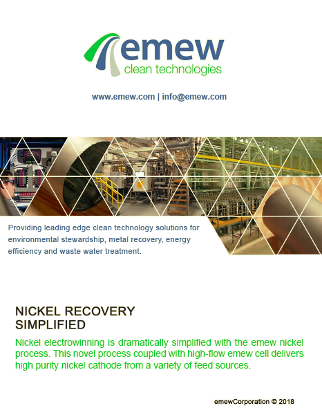 Nickel Recovery Brochure